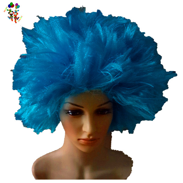 Wholesale Dr Seuss Thing 1 And 2 Blue Synthetic Party Wigs Hpc-2529 e657a0d51