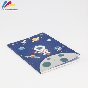 2018 wholesale printed colorful a4 custom diary notebook