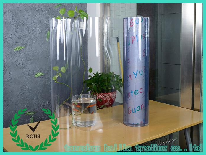 Crystal Clear Plastic Rolls Pvc Plastic Clear Sheet Pvc