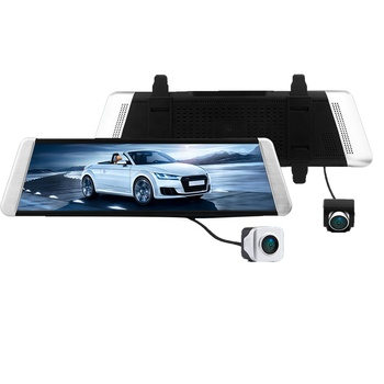 Hot Sale  IPS Touch Screen Car Camera Recorder Black Box Streaming Video Rearview Mirror