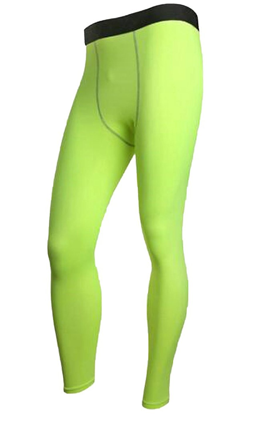 2870db485f658 Get Quotations · XQS Mens Thermal Compression Baselayer Solid Tights Fleece  Lined Pants