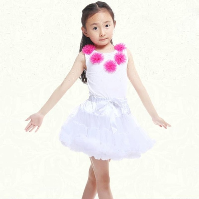 Beautiful cartoon flower girl tutu skirt cute tulle lace sleeveless children dress school princess party tutu dresses for girl