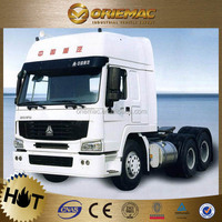 sinotruk howo 4x2 or 6x4 manual transmission tractor truck