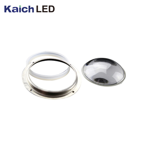 KC109-1 Clear glass led highbay light diffuser optical lens