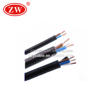 2/3/4 Core Rvv Cable Wire Manufacturer,1.5mm 2.5mm 3 Core Flexible ...