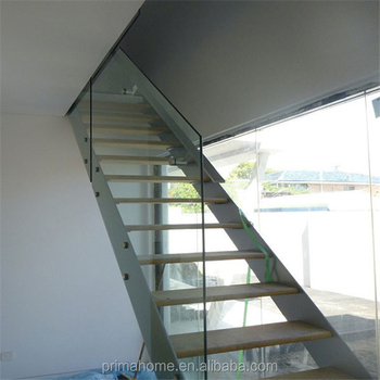 Beat Price Ceramic Tile Stair Nosing For Straight Staircase With Frameless  Glass Railing