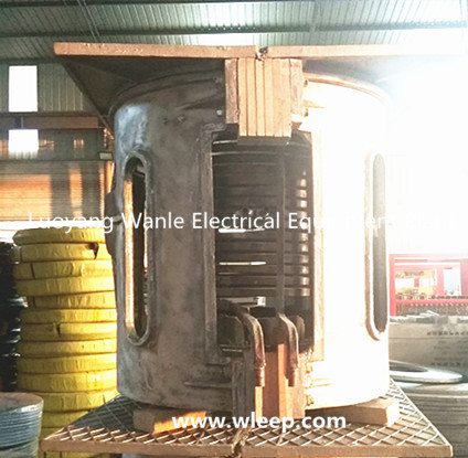 0.5T Aluminium Shell IF Induction Aluminium Melting Furnace