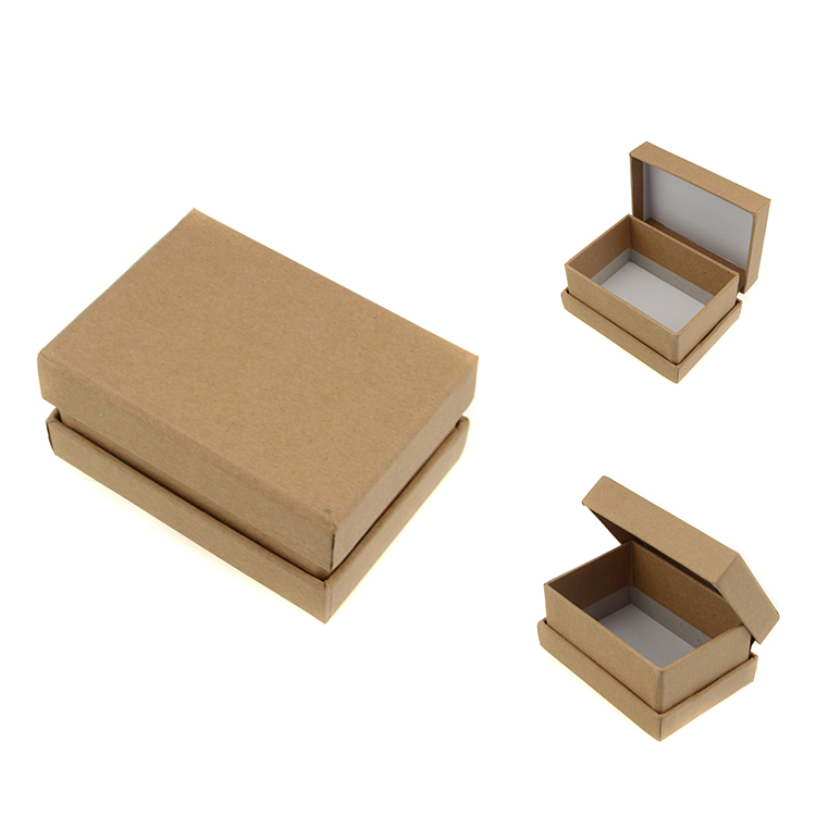 Customized printing paper box packaging mini soap box brown kraft boxes