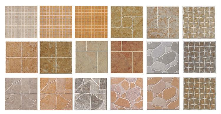 Floor Glazed Non-slip Porcelain Tile,Bathroom Tile Design