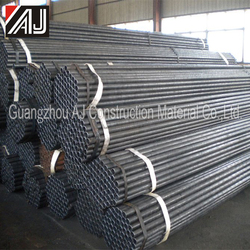 Low Investment High Quality Black Steel Pipe for Scaffolding System, Made in Guanghzou