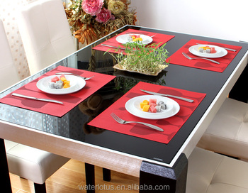 2015 Alibaba China Dining Table Mat, Customized Place Mat, Coasters