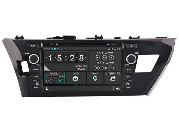 WITSON <strong>TOYOTA</strong> <strong>COROLLA</strong> 2014 TAPE RECORDER DVD CAR DVD OBD DISPLAY BACK VIEW 1080P WIFI DSP 3G STEERING WHEEL CONTROL