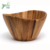 Large Acacia wood Serving Bowl for Fruits or Salads