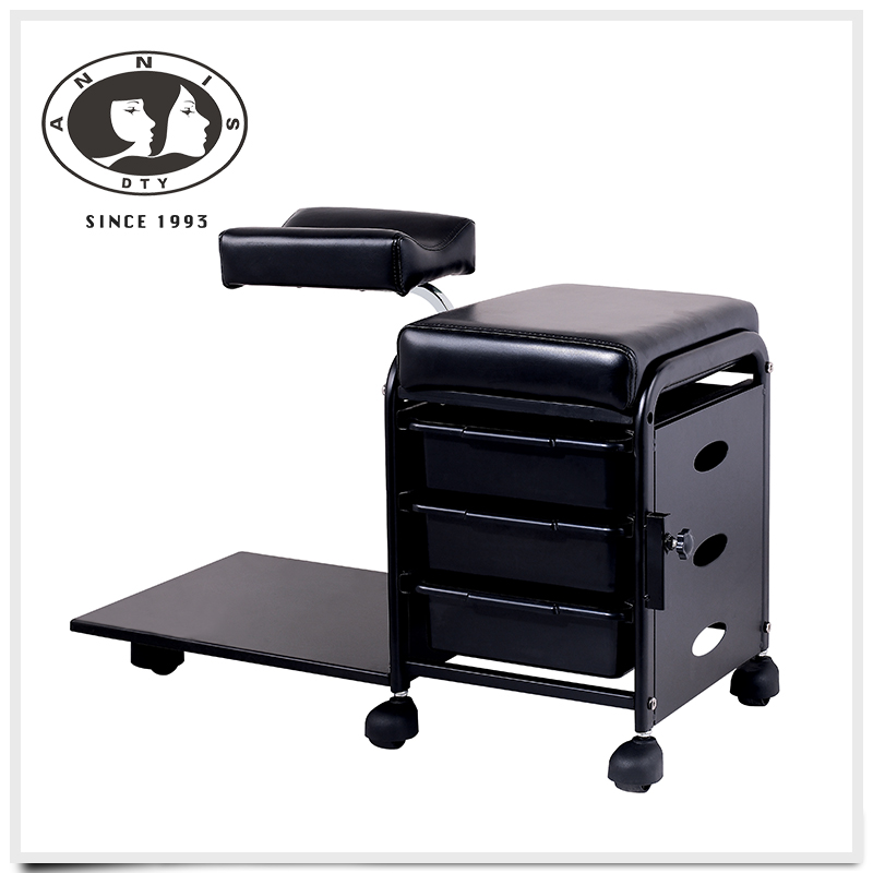 Pedicure Stool With Drawers Footrest Chairs Spas Stools By Interstate