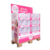 Supermarket 1/4 Cardboard Half Pallet Display Stand,PDQ Quarter Carton Pallet Display Rack Merry Christmas