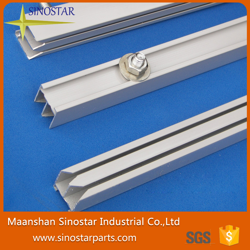 aluminium sliding guide for printing plate