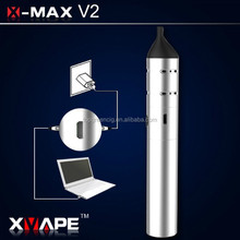 Huge battery baking dry herb vaporizer mod atomizer wholesale x-max v2 510 dry herb vaporizer