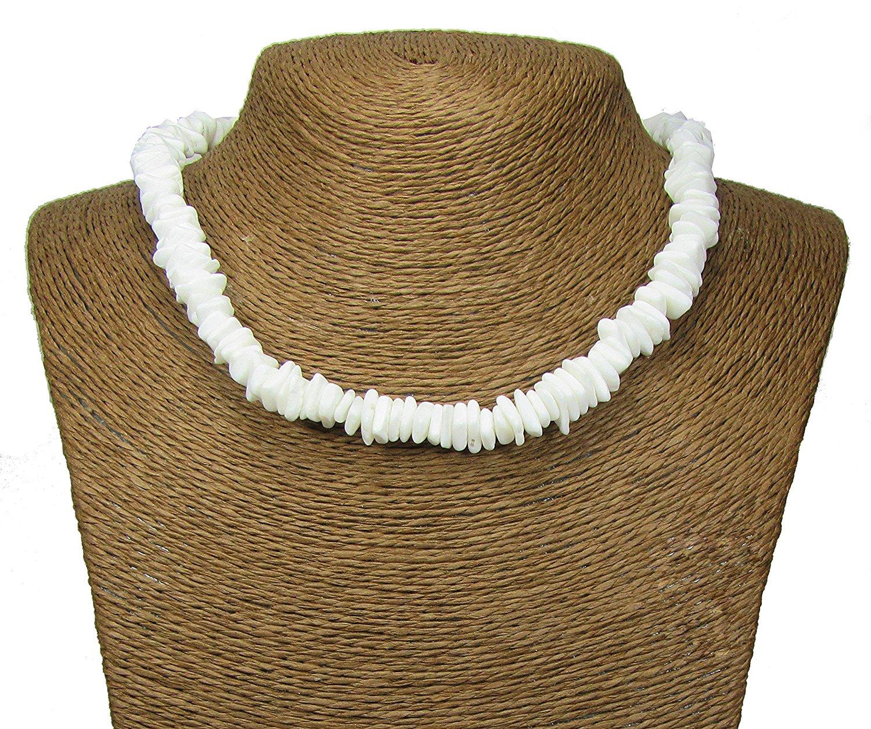 2c665d68d712f3 Get Quotations · Puka Necklace-18 Inch-Surfer Necklace-Tropical Necklace-Beach  Necklace - Shell