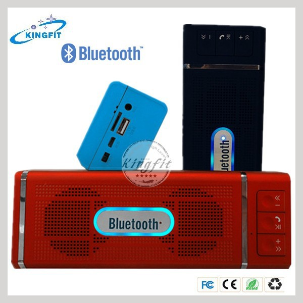 Factory New Exclusive Portable Vibration Bluetooth Woofer Mini Speaker