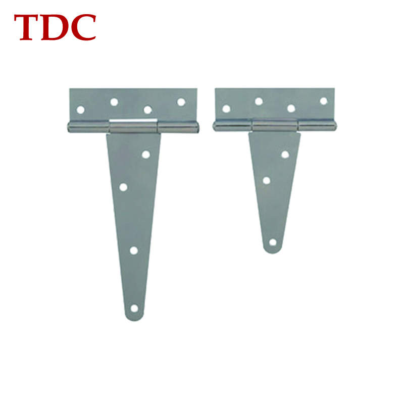 China suppliers high quality white door Zinc plated T Hinge