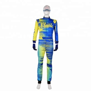 go kart practise racing suit