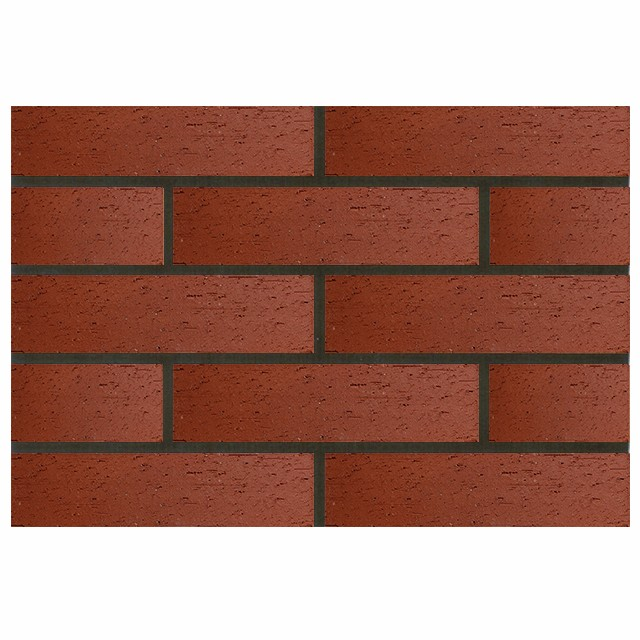 Red Wall Split Face Stone Tile Paver Veneer Brick Panel Ceramic