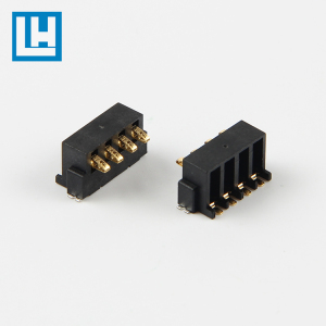 BZ-03A-4P Low Price Langhong 9v vertical 3.5mm DIP Pin connector Battery holder