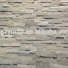 Natural grey slate ledger stone