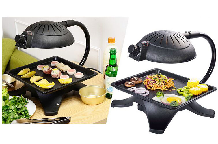 Electric Teppanyaki Grill 3d Infrared Light Roaster Bbq Grills For ...