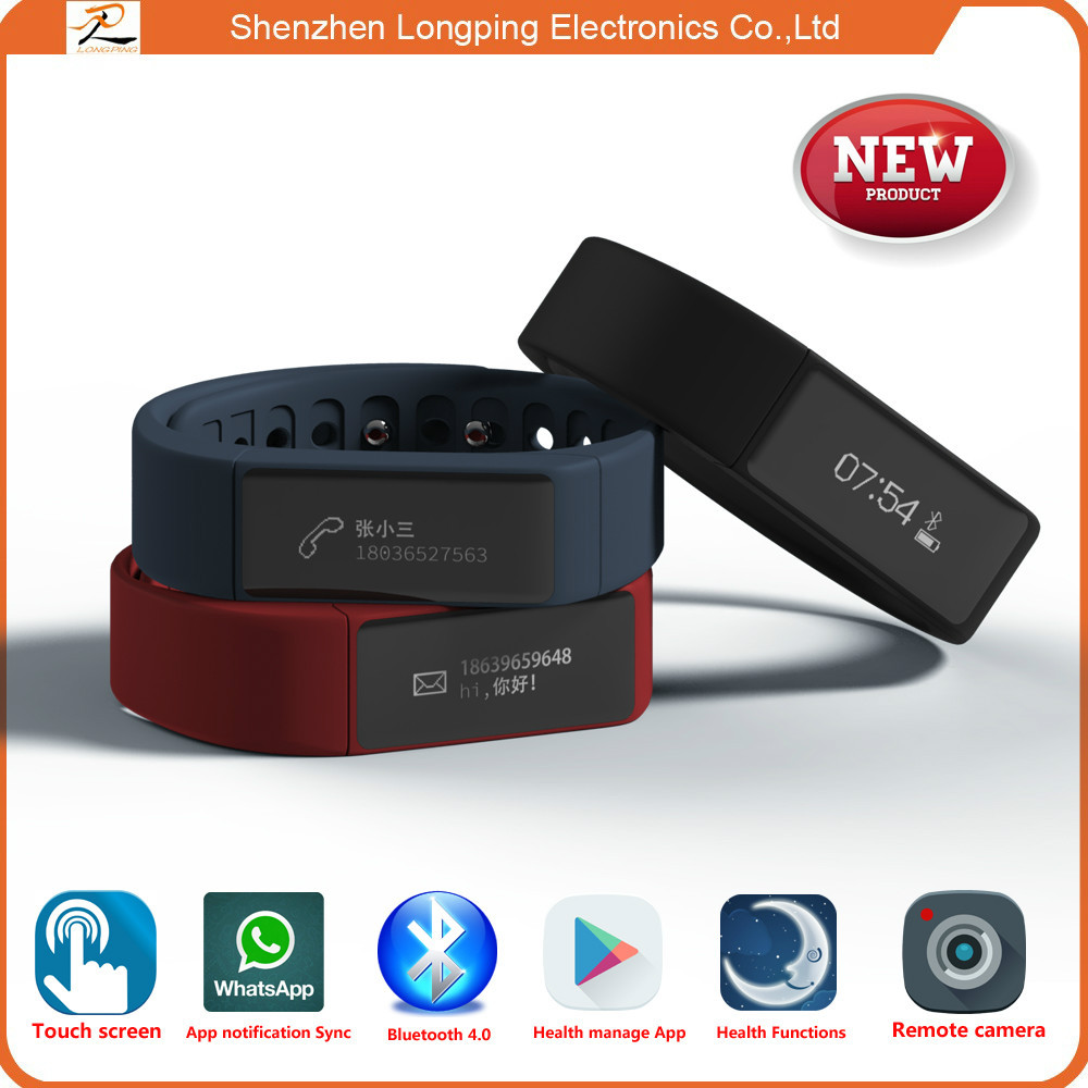 bigger touch screen smart bracelet for iphone 6