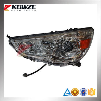 Left Auto Working Headlights For Mitsubishi Outlander GA1W GA2W GA3W GA6W 8301B587