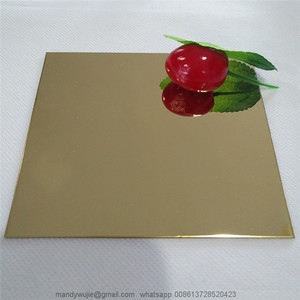Wholesale Gold Titanium Mirror Finish Stainless Steel Sheet