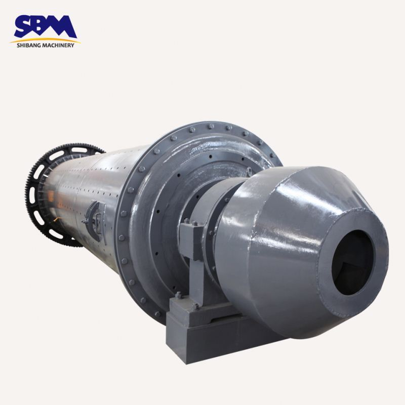 SBM price hot sale 2017 trunnion bearing ball mill