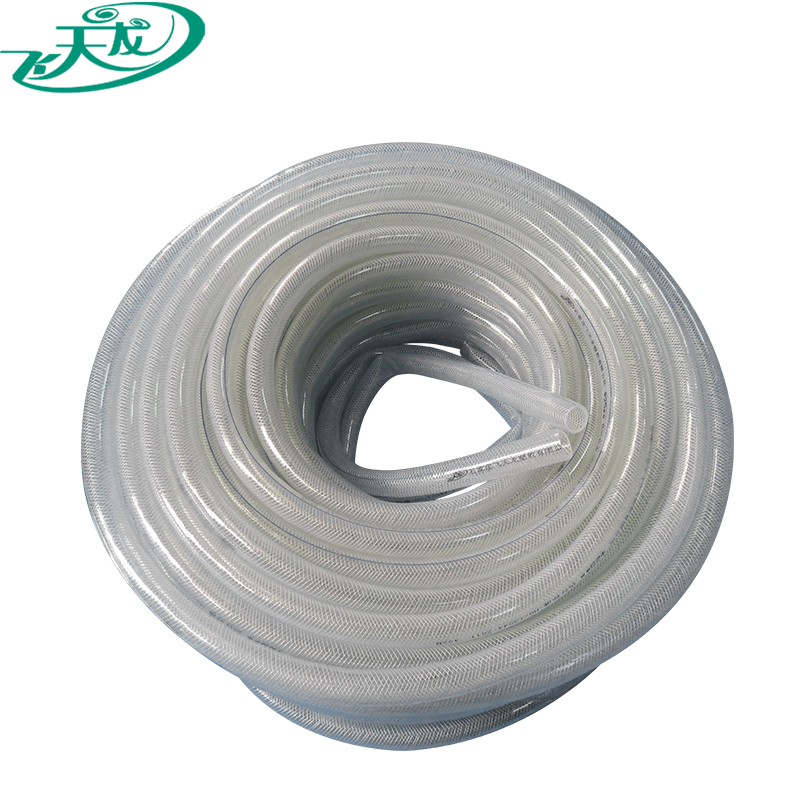 best pvc clear nylon braided spray hose from china manufacture