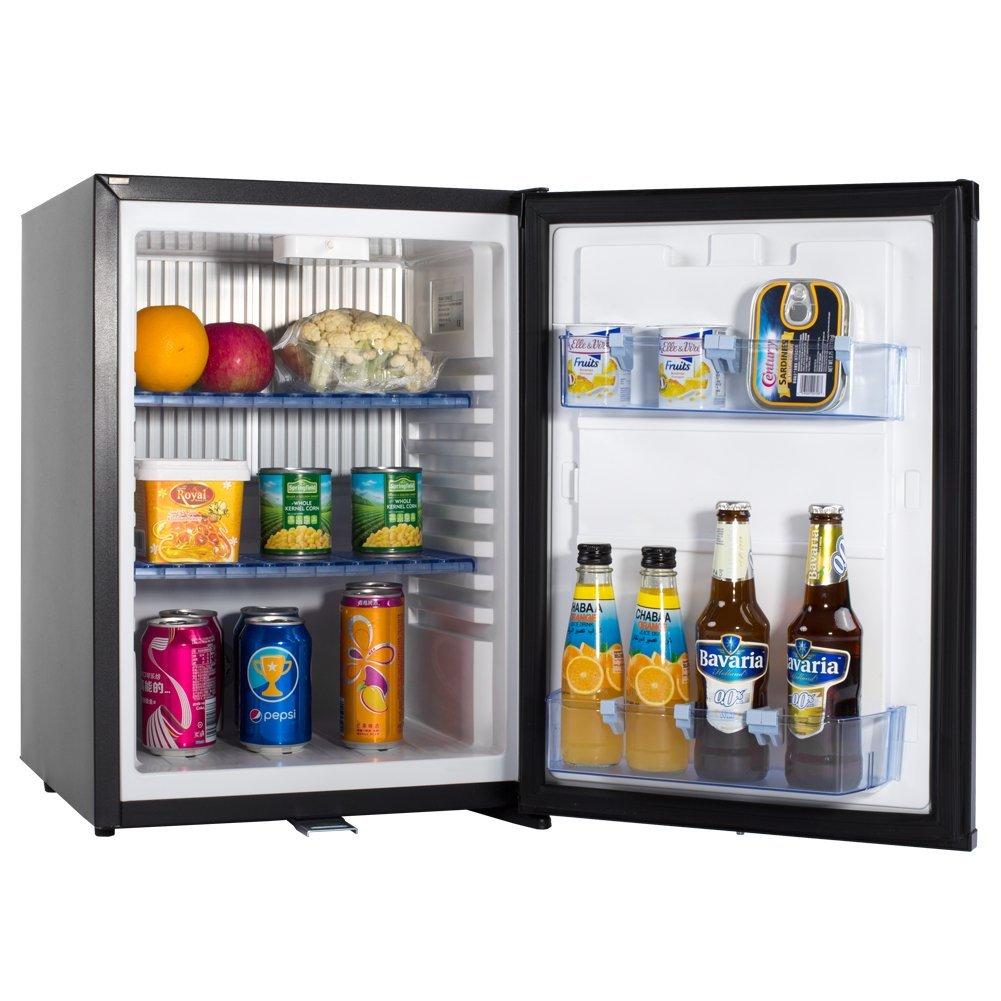 Smad Small Refrigerator for Dorm Compact Mini Fridge Quiet Hotel Refrigerator, Single Reversible Door, 1.4 cu.ft.
