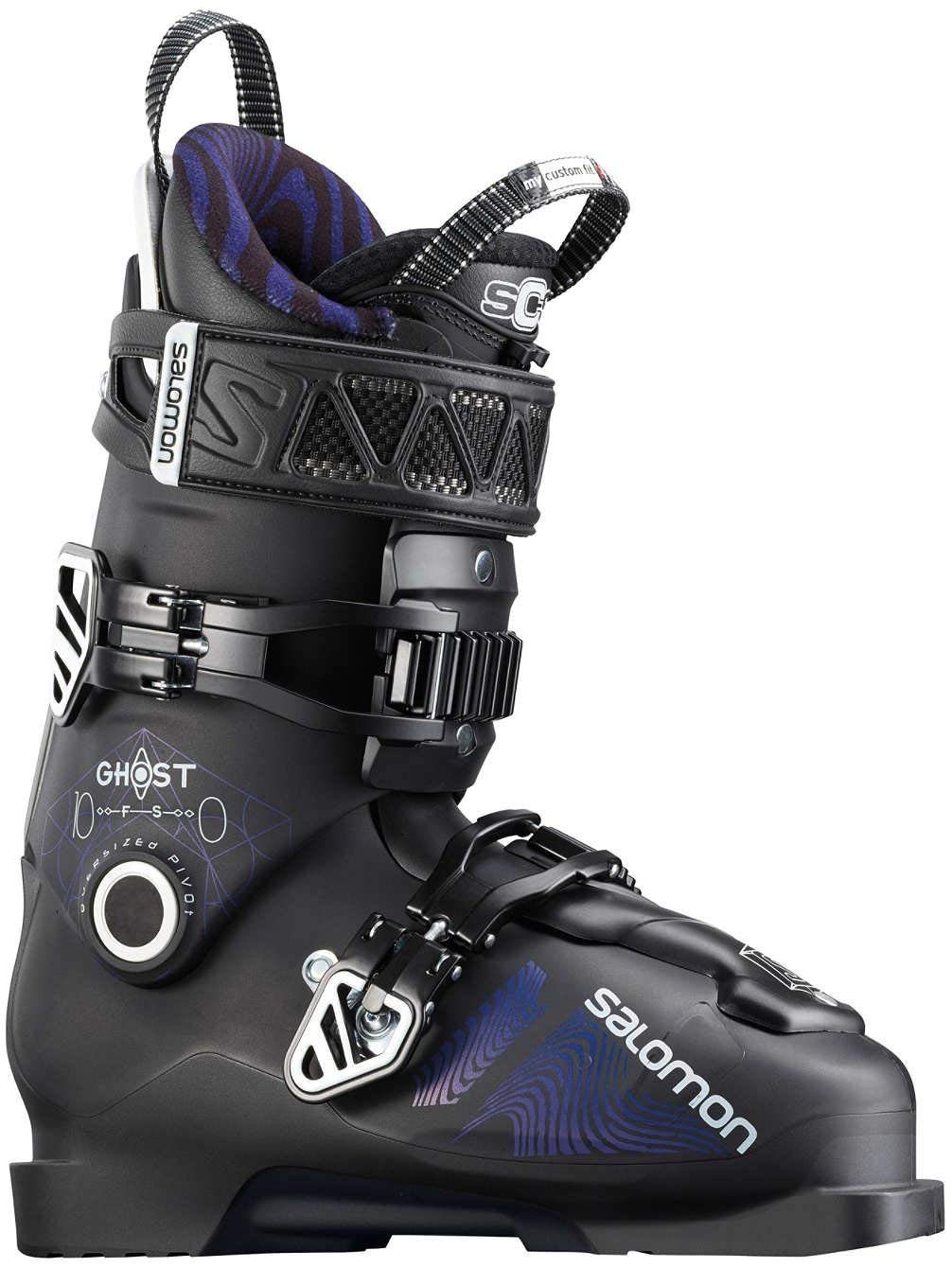 Get Quotations · Salomon New Ghost FS 100 Alpine Downhill ski Boots - 26.5 44d1013b0