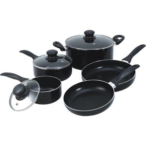 best selling products aluminum non-stick pots and pans cookware set
