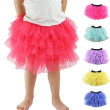 tutu dance skirt trade explosion models baby Tutu Skirt Girl Skirt cake ballet skirt clothing wholesale champagne color