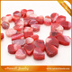 Irregular Glass Pink Crystal gems Stone Loose Beads foJewelry Decor Wholesale Price