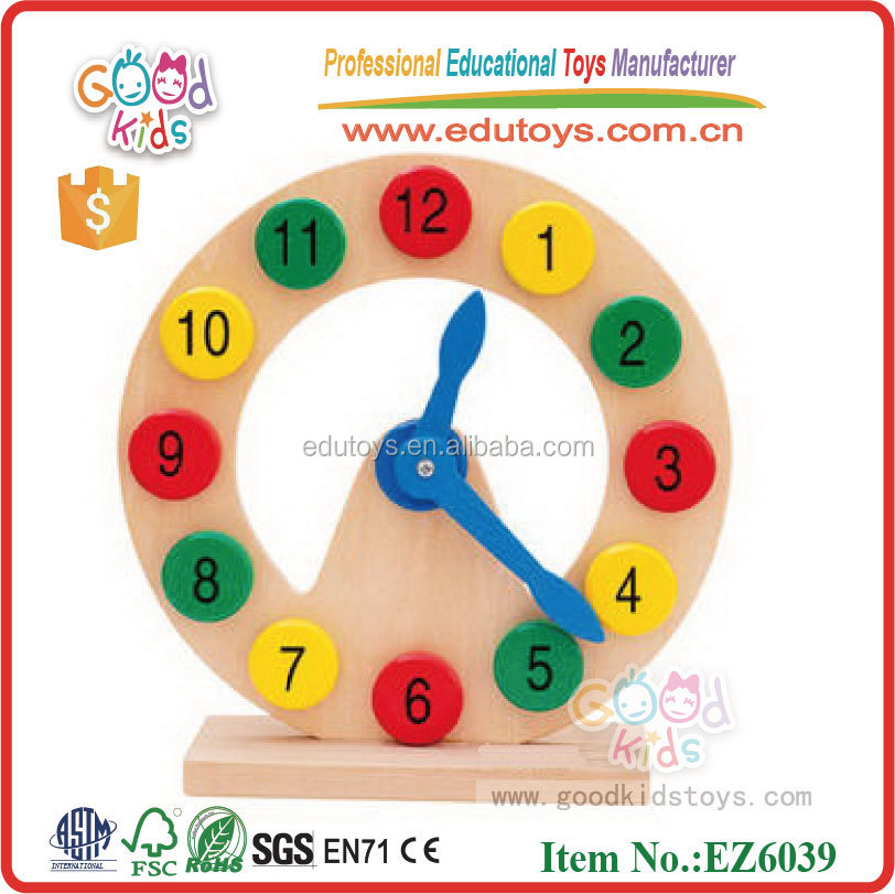 Toys & Games Muti-funcition Educational Learning Kids Preschool Wooden Toys for Toddlers Birthday Gifts 6 in 1 Counting Sticks/ Weather/ Season/ Week/ Math/ Clock Cognition Montessori Match Puzzle Games Toys Early Development & Activity Toys