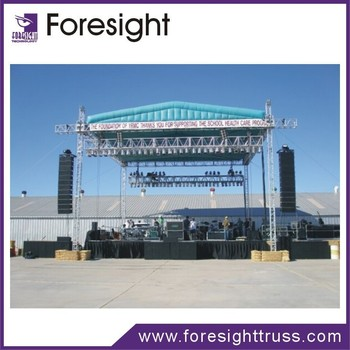 Assembly Stage Truss Roof Aluminum Lighting