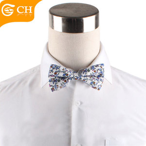 High Quality Cheap Small Broken Flower Led Bow Tie Clips with Customs