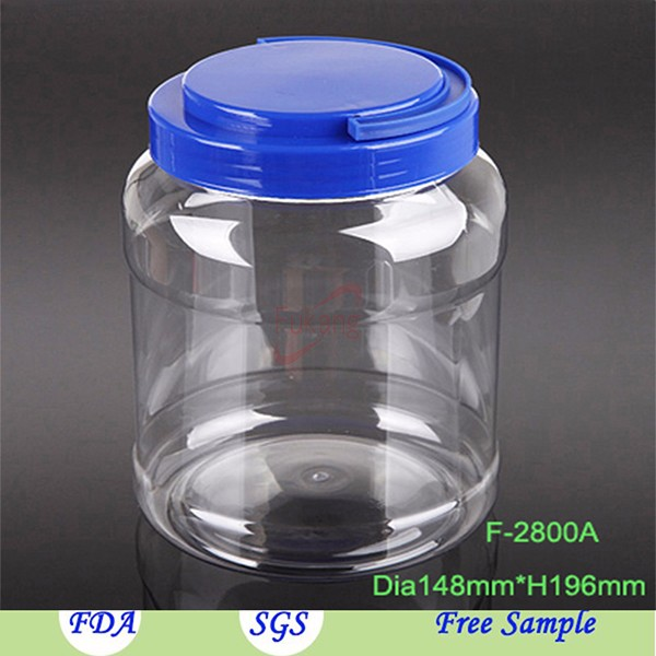 5 Liter Plastic Bottle With Handle Cap 1 Gallon Big Pet