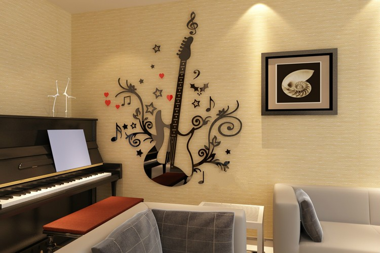 Https Www Alibaba Com Product Detail Home Decor Import Cute Guitar 3d 60528581899 Html