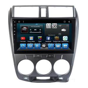 10.1'' Android Car DVD Player Multimedia Head Unit Navigation and Entertainment System for Honda City 2008 2009 2010 2011 2012