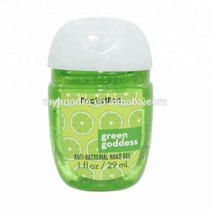 Wholesale bath and body works hand gel sanitizer 30ml bottle