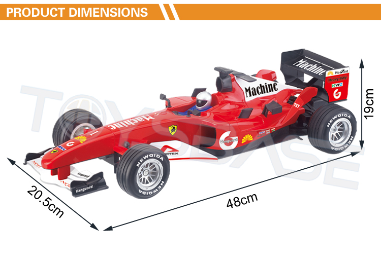 1:10 1:8 Rc F1 Racing Car Toy Game Remote Control Formula ...