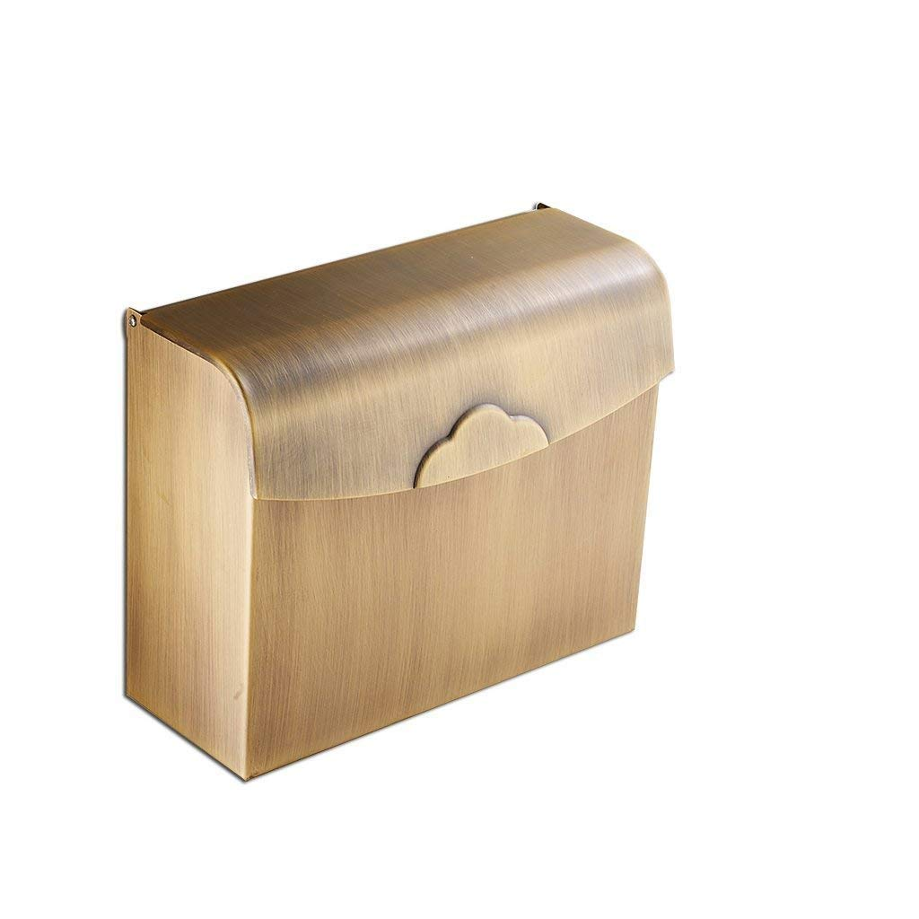 NAERFB In the European style of copper retro fabrics, paper holder towel toilet-paper, paperboard sanitary toilet shelving