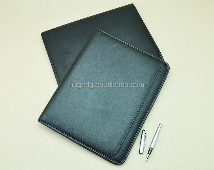 custom Car Document leather file Folder with high quality and low price