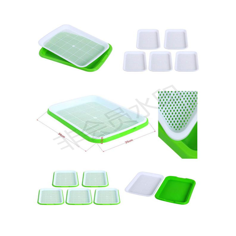 Seed Sprouter Tray,  Seed Germination Tray BPA Free Nursery Tray for Seedling Planting Great for for Garden Home Office